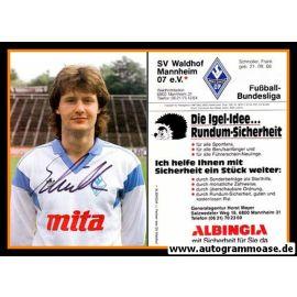 Autogramm Fussball   SV Waldhof Mannheim   1988   Frank SCHMÖLLER