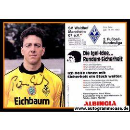 Autogramm Fussball | SV Waldhof Mannheim | 1990 | Peter EICH