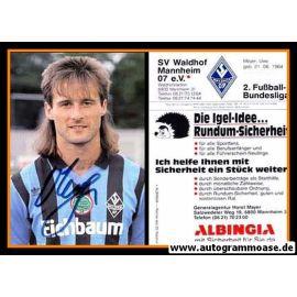 Autogramm Fussball | SV Waldhof Mannheim | 1990 | Uwe MEYER