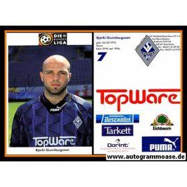 Autogramm Fussball   SV Waldhof Mannheim   1996   Bjarki GUNNLAUGSSON