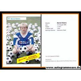 Autogramm Fussball | SV Meppen | 1990 | Bernd DETERS