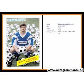 Autogramm Fussball | SV Meppen | 1990 | Bogdan DLUGAJCZYK
