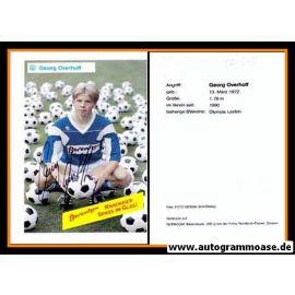 Autogramm Fussball | SV Meppen | 1990 | Georg OVERHOFF