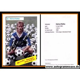 Autogramm Fussball | SV Meppen | 1990 | Helmut ROLFES
