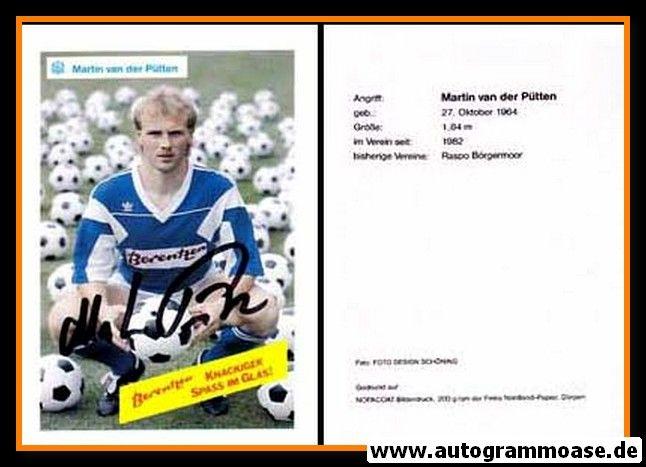 Autogramm Fussball   SV Meppen   1990   Martin VAN DER PÜTTEN