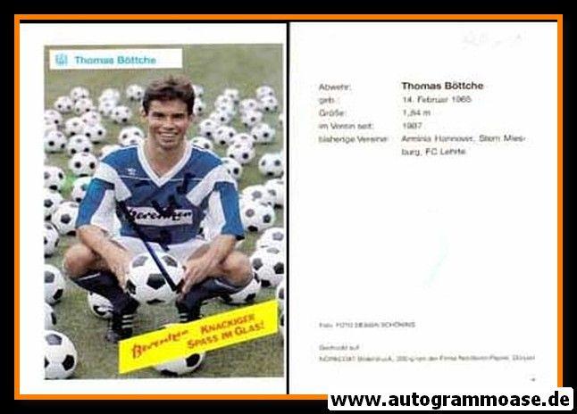 Autogramm Fussball   SV Meppen   1990   Thomas BÖTTCHE