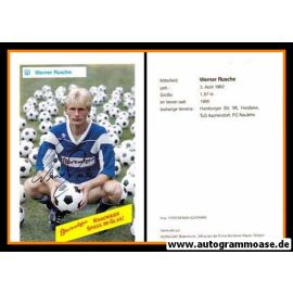Autogramm Fussball   SV Meppen   1990   Werner RUSCHE