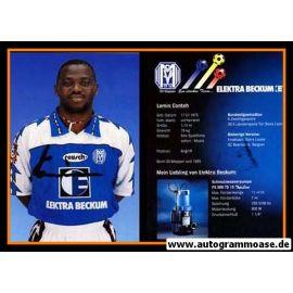 Autogramm Fussball   SV Meppen   1995   Lamin CONTEH