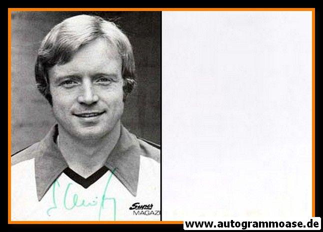 Autogramm Fussball | Borussia Mönchengladbach | 1977 | Winfried SCHÄFER (Super Magazin)