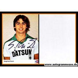 Autogramm Fussball   Borussia Mönchengladbach   1981   Siegfried REICH