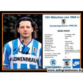 Autogramm Fussball   TSV 1860 München   1995   Guido ERHARD