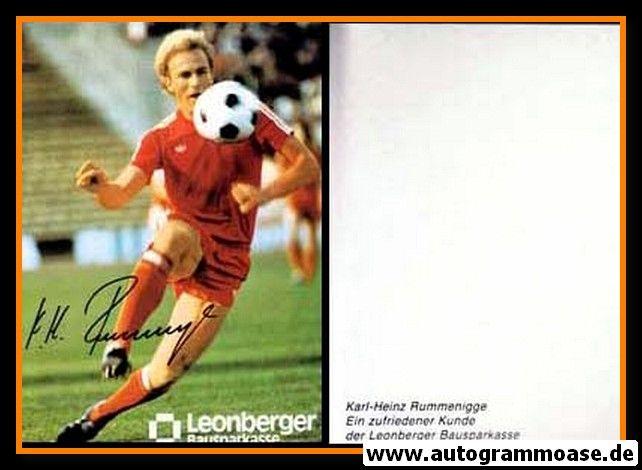 Autogramm Fussball   FC Bayern München   1980er   Karl-Heinz RUMMENIGGE (Leonberger)
