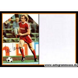 Autogramm Fussball   FC Bayern München   1970er   Uli HOENESS (Spielszene Color)
