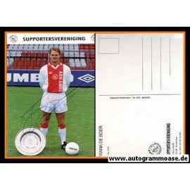 Autogramm Fussball   AFC Ajax Amsterdam   1994   Frank DE BOER
