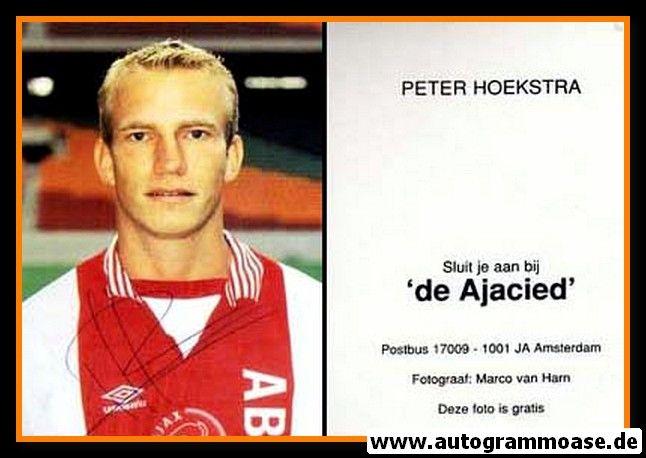 Autogramm Fussball   AFC Ajax Amsterdam   1996   Peter HOEKSTRA