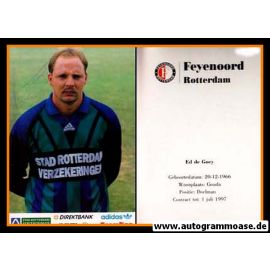 Autogramm Fussball | Feyenoord Rotterdam | 1994 | Ed DE GOEY