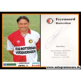 Autogramm Fussball | Feyenoord Rotterdam | 1994 | Ruud HEUS