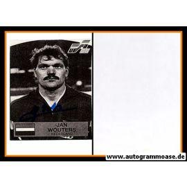 Autogramm Fussball | Niederlande | 1988 WM | Jan WOUTERS (Portrait SW)