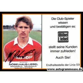 Autogramm Fussball | 1. FC Nürnberg | 1982 | Alois REINHARDT