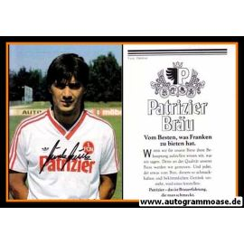 Autogramm Fussball | 1. FC Nürnberg | 1986 | Günter GÜTTLER