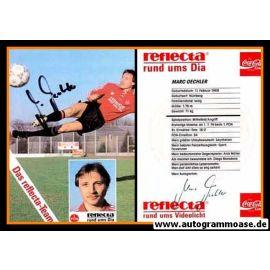 Autogramm Fussball   1. FC Nürnberg   1990   Marc OECHLER