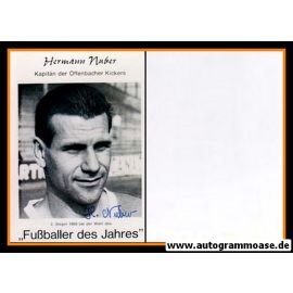 Autogramm Fussball | Kickers Offenbach | 1968 Foto | Hermann NUBER (Portrait SW FdJ)