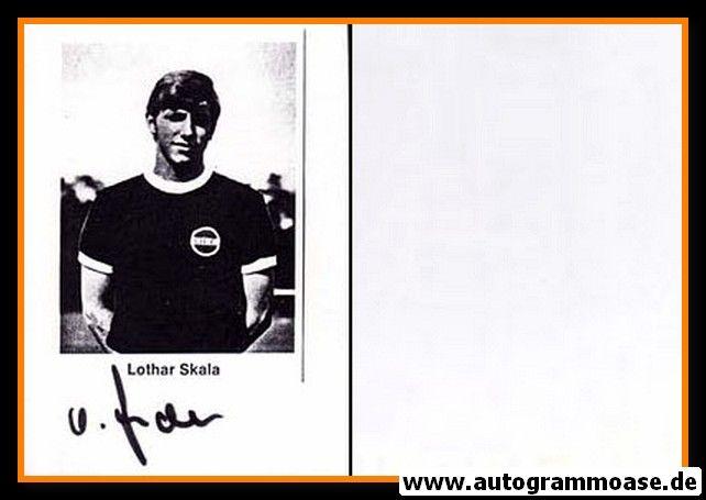 Autogramm Fussball   Kickers Offenbach   1970er   Lothar SKALA (Portrait SW)
