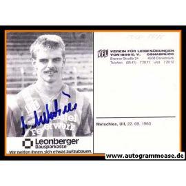 Autogramm Fussball | VfL Osnabrück | 1986 | Ulf METSCHIES