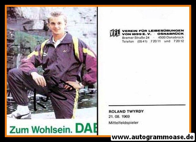 Autogramm Fussball | VfL Osnabrück | 1990 | Roland TWYRDY