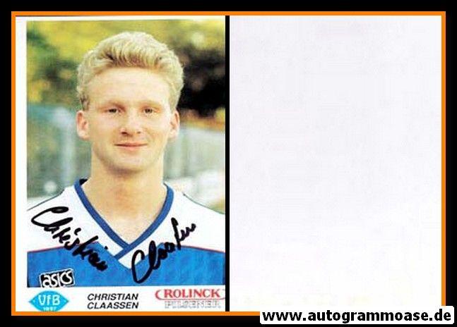 Autogramm Fussball   VfB Oldenburg   1990   Christian CLAASSEN