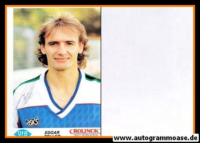 Autogramm Fussball   VfB Oldenburg   1990   Edgar ZOLLER