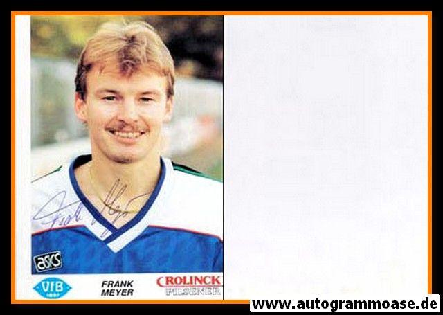 Autogramm Fussball | VfB Oldenburg | 1990 | Frank MEYER