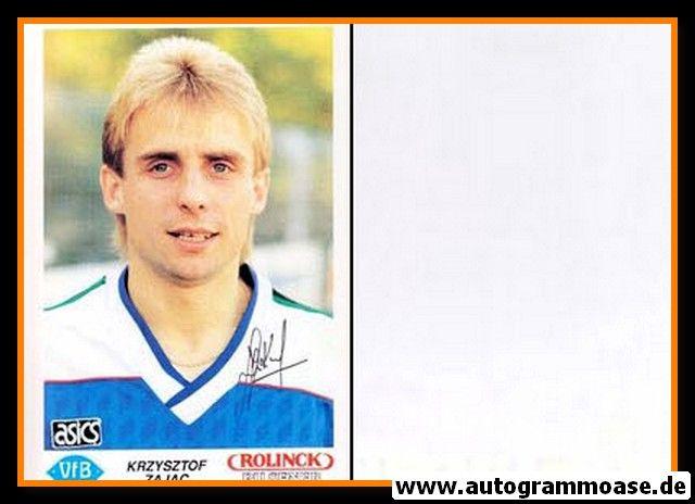 Autogramm Fussball   VfB Oldenburg   1990   Krzysztof ZAJAC