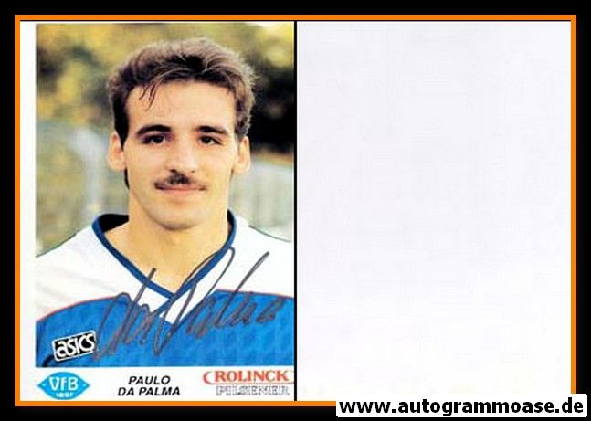 Autogramm Fussball | VfB Oldenburg | 1990 | Paulo DA PALMA