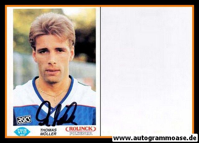 Autogramm Fussball   VfB Oldenburg   1990   Thomas MÖLLER