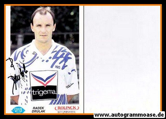 Autogramm Fussball | VfB Oldenburg | 1991 | Radek DRULAK