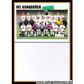Mannschaftskarte Fussball   VfB Oldenburg   1991 + 2 AG