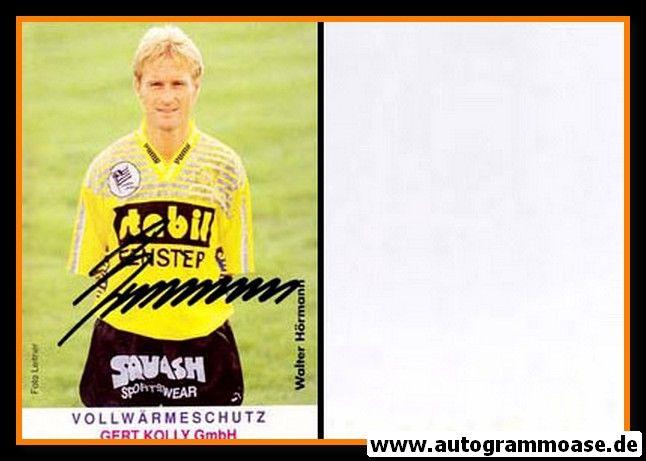 Autogramm Fussball   SK Raika Sturm Graz   1980er   Walter HÖRMANN