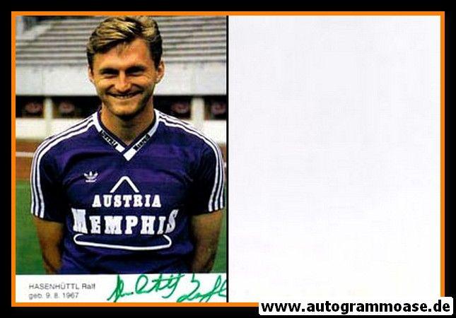 Autogramm Fussball   FK Austria Memphis Wien   1993   Ralf HASENHÜTTL