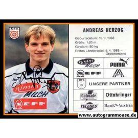 Autogramm Fussball | Österreich | 1995 | Andreas HERZOG