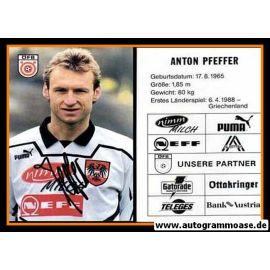 Autogramm Fussball | Österreich | 1995 | Anton PFEFFER