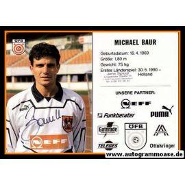 Autogramm Fussball   Österreich   1995   Michael BAUR