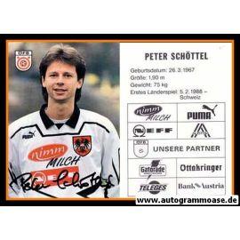 Autogramm Fussball   Österreich   1995   Peter SCHÖTTEL