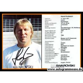 Autogramm Fussball | FC Swarowski Tirol Innsbruck | 1990 | Horst HRUBESCH