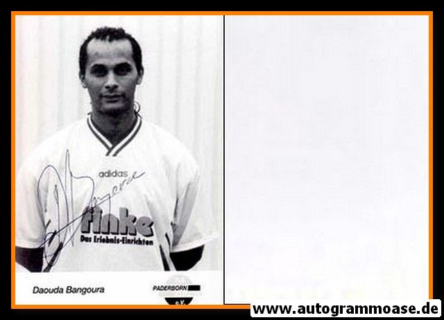 Autogramm Fussball   SC Paderborn 07   1995   Daouda BANGOURA