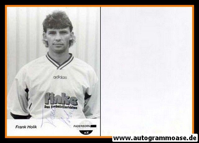 Autogramm Fussball | SC Paderborn 07 | 1995 | Frank HOLIK