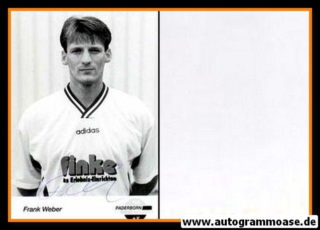 Autogramm Fussball | SC Paderborn 07 | 1995 | Frank WEBER