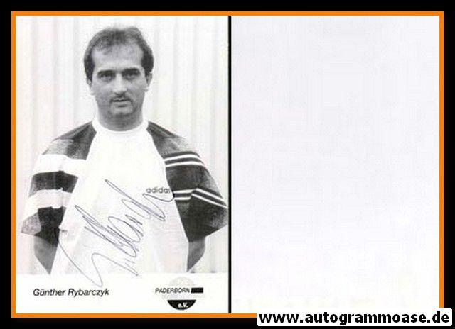 Autogramm Fussball | SC Paderborn 07 | 1995 | Günther RYBARCZYK