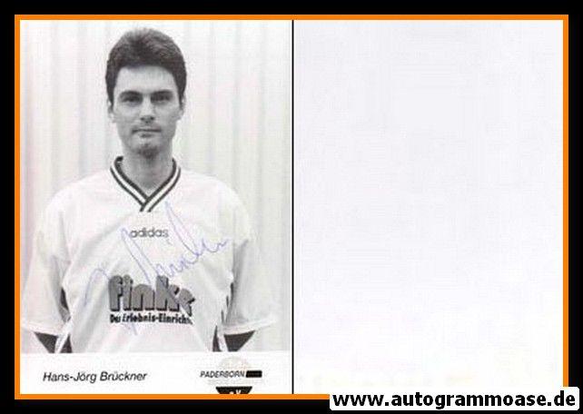 Autogramm Fussball | SC Paderborn 07 | 1995 | Hans-Jörg BRÜCKNER
