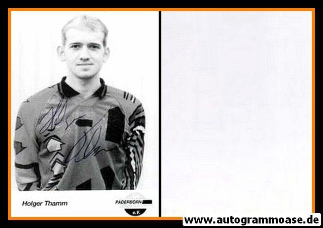 Autogramm Fussball | SC Paderborn 07 | 1995 | Holger THAMM